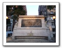 IMG012 Honouring firefighters with water